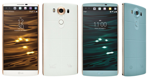 نقد و بررسی گوشی الجی V10 - طراحی