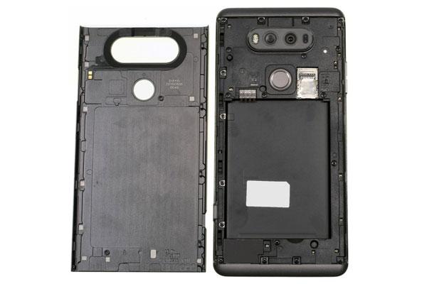 نقد و بررسی گوشی LG V20 - طراحی