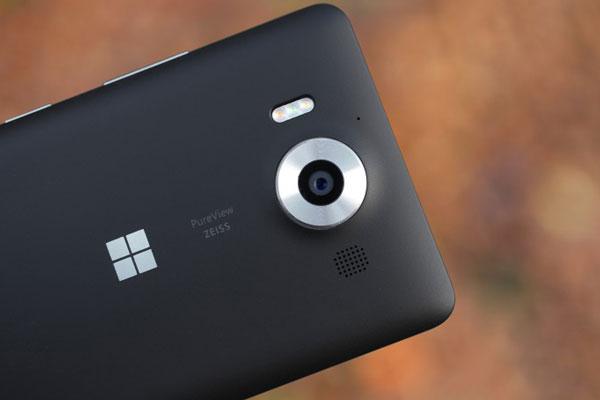 نقد و بررسی گوشی مایکروسافت لومیا 950 - دوربین اصلی
