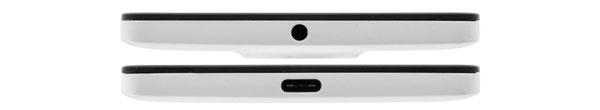 نقد و بررسی گوشی مایکروسافت لومیا 950 ایکس ال - طراحی قسمت بالایی و پایینی دستگاه