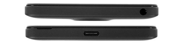 نقد و بررسی گوشی مایکروسافت لومیا 950 - طراحی بالا و پایین دستگاه