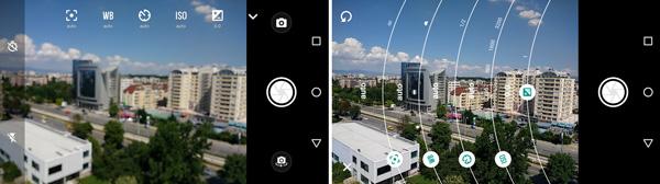 نقد و بررسی گوشی موتورولا موتو جی 4 - رابط کاربری دوربین