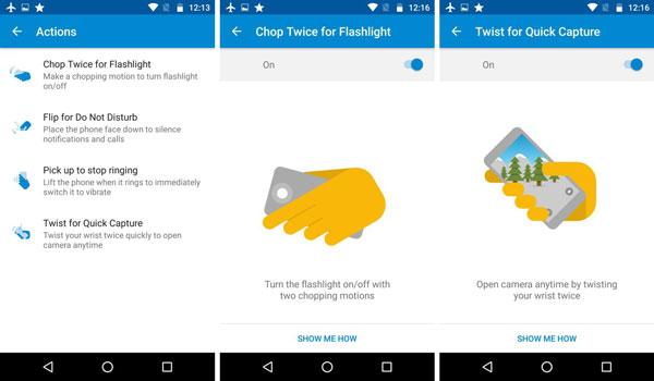 نقد و بررسی گوشی موتورولا Moto G4 Plus - رابط کاربری
