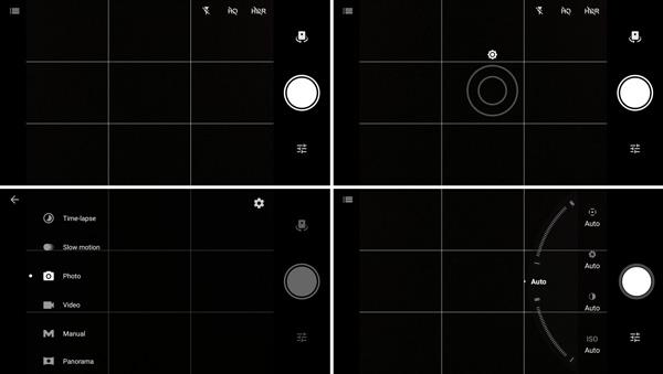 نقد و بررسی گوشی وان پلاس 3 - رابط کاربری دوربین