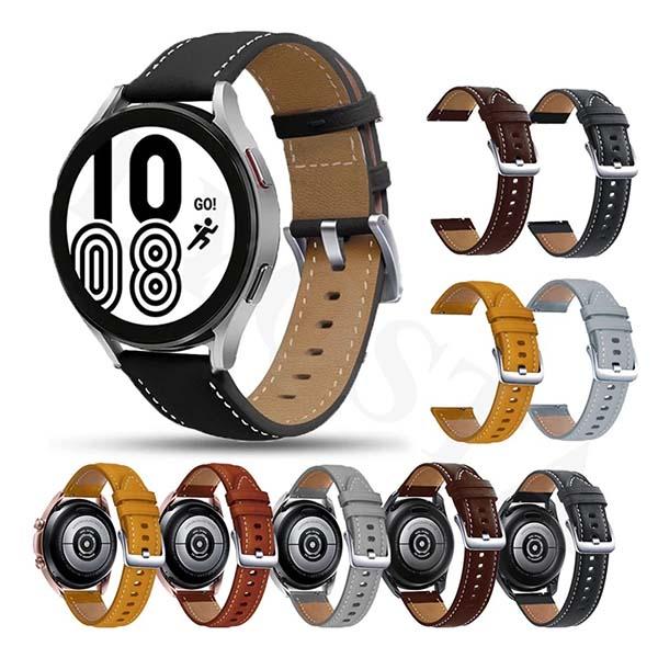 خرید بند چرمی سامسونگ Galaxy Watch 4 مدل Premium
