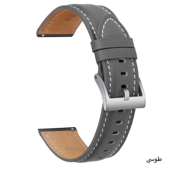 بند چرمی ساعت هوشمند مدل Premium Leather