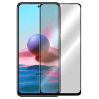 خرید محافظ شیشه ای تمام چسب Privacy برای گوشی شیائومی ردمی نوت 10 4G/نوت 10S