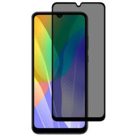 خرید محافظ شیشه ای تمام چسب Privacy برای گوشی هواوی Y6p