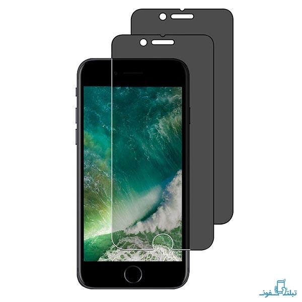 محافظ شیشه ای تمام چسب Privacy برای گوشی اپل آیفون 5s