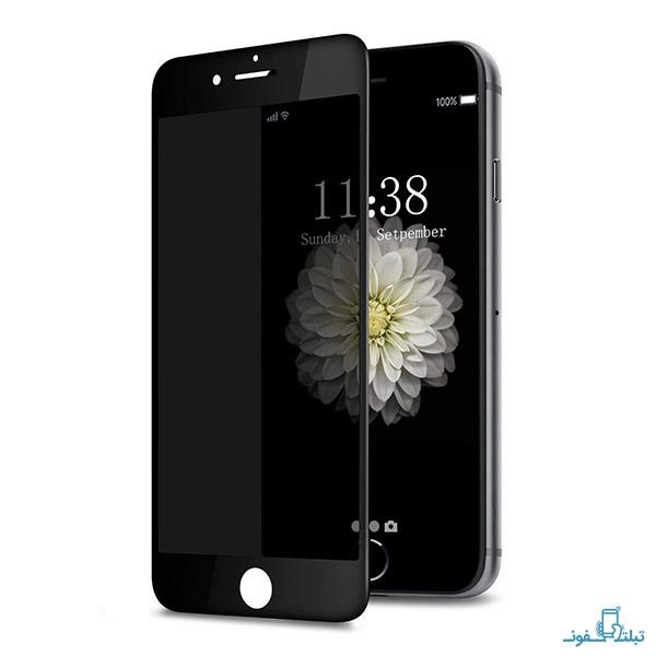 محافظ شیشه ای تمام چسب Privacy برای گوشی اپل آیفون 6s