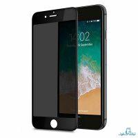 محافظ شیشه ای تمام چسب Privacy برای گوشی اپل آیفون 7 پلاس