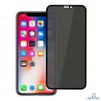 محافظ شیشه ای تمام چسب Privacy برای گوشی اپل آیفون XR