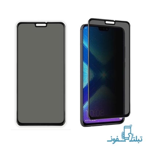 Privacy Full GlueTempered Glass Screen Protector For Huawei Honor 8X