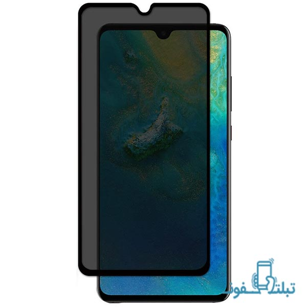 Privacy Full GlueTempered Glass Screen Protector For Huawei P30 lite