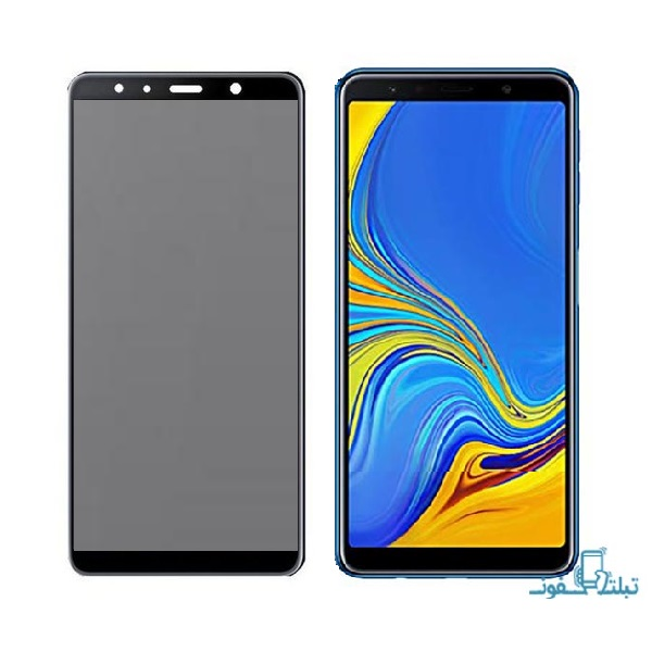 Privacy Full GlueTempered Glass Screen Protector For Samsung Galaxy A7 2018