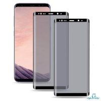 محافظ شیشه ای تمام چسب Privacy برای گوشی سامسونگ گلکسی S8 پلاس