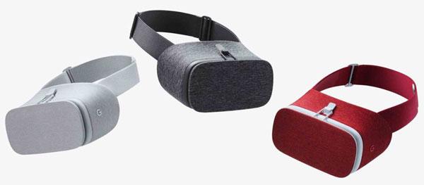 رنگ بندی هدست واقعیت مجازی گوگل دیدریم ویو