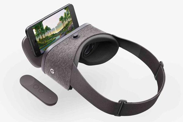طراحی هدست واقعیت مجازی گوگل دیدریم ویو
