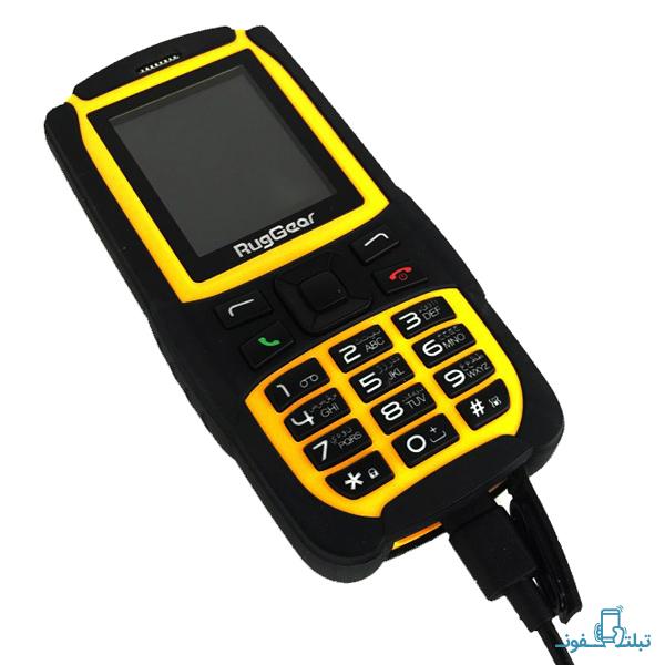قیمت خرید گوشی موبایل راگ گیر RG129 دو سیم کارت