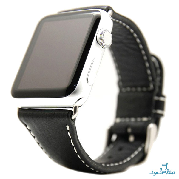 SLG Italian Leather Strap For Apple Watch – 42mm-1-Buy-Price-Online