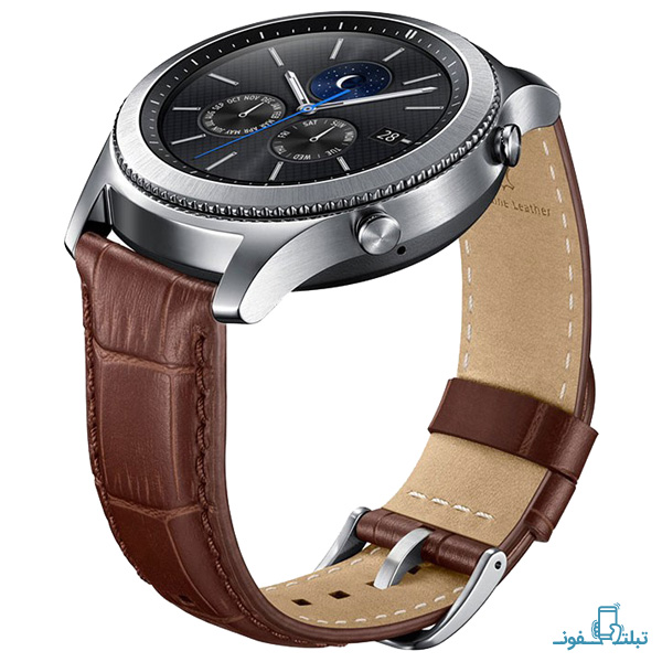Samsung Alligator Grain Leather Band for Gear S3-1-Buy-Price-Online