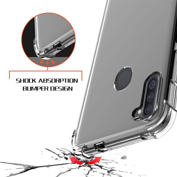 خرید قاب گوشی سامسونگ Galaxy A11 ژله ای کپسولی