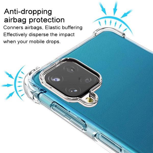 خرید قاب گوشی سامسونگ Galaxy A12 ژله ای کپسولی