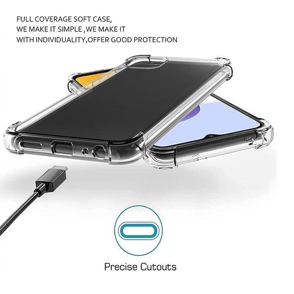 خرید قاب گوشی سامسونگ Galaxy A22 5G ژله ای کپسولی