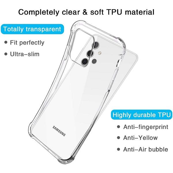 خرید قاب گوشی سامسونگ Galaxy A32 5G ژله ای کپسولی