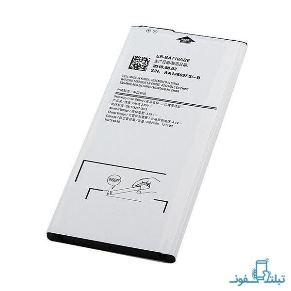 باتری گوشی سامسونگ گلکسی A7 2016 مدل EB-BA710ABE