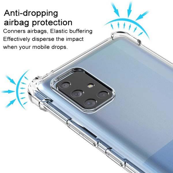 خرید قاب گوشی سامسونگ Galaxy A71 5G ژله ای کپسولی
