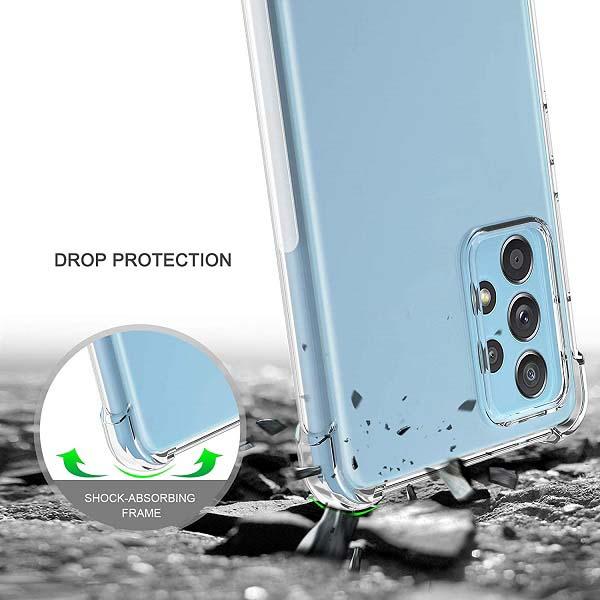 خرید قاب گوشی سامسونگ Galaxy A72 ژله ای کپسولی