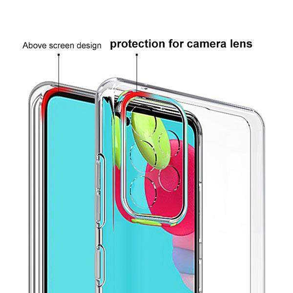 خرید قاب ژله ای سامسونگ Galaxy A72 4G/5G مدل محافظ دوربین