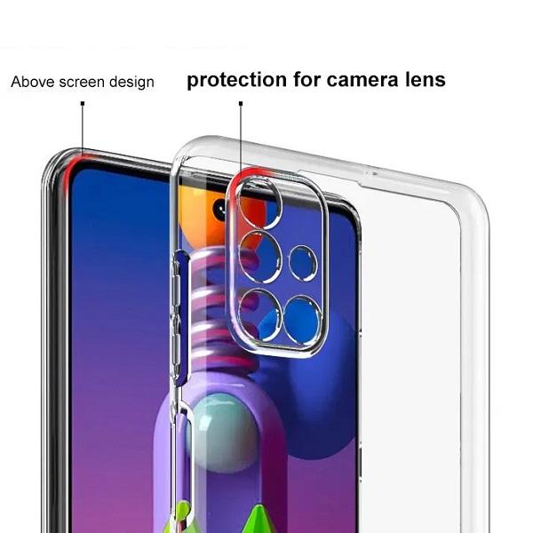 خرید قاب ژله ای سامسونگ Galaxy M51 مدل محافظ دوربین