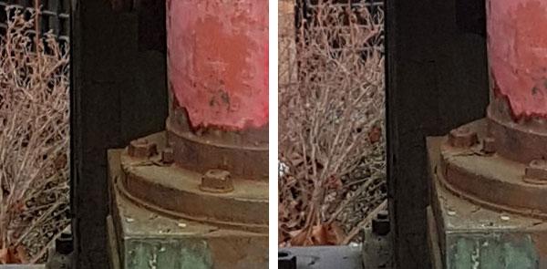 مقایسه سنسور دوربین سامسونگ گلکسی S7