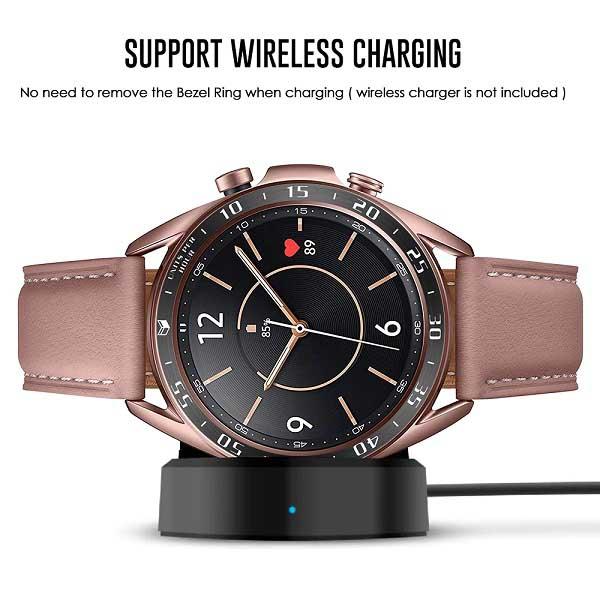 خرید محافظ فلزی بازل ساعت هوشمند سامسونگ گلکسی واچ 3 مدل 41 میلی