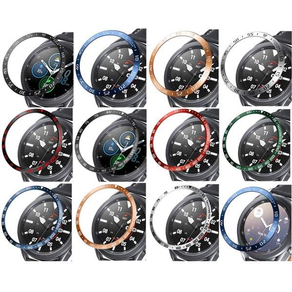 خرید محافظ فلزی بازل ساعت هوشمند سامسونگ گلکسی واچ 3 مدل 45 میلی
