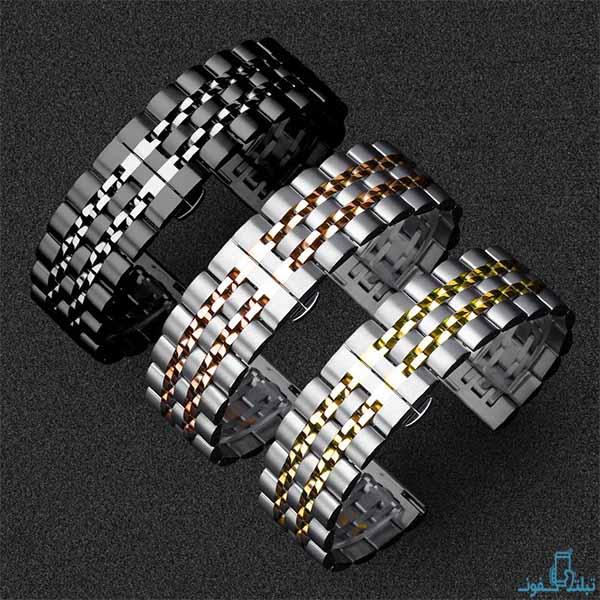 خرید بند فلزی طرح رولکس ساعت هوشمند سامسونگ گلکسی واچ 3
