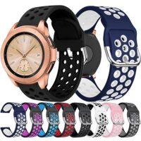 خرید بند طرح نایکی ساعت هوشمند سامسونگ گلکسی واچ 42mm