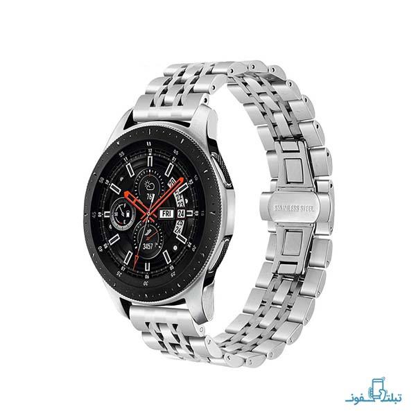 بند فلزی طرح رولکس ساعت هوشمند سامسونگ گلکسی واچ نسخه 46 میلی متر