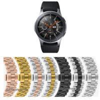 بند ساعت سامسونگ Galaxy Watch 46mm استیل 3Rows