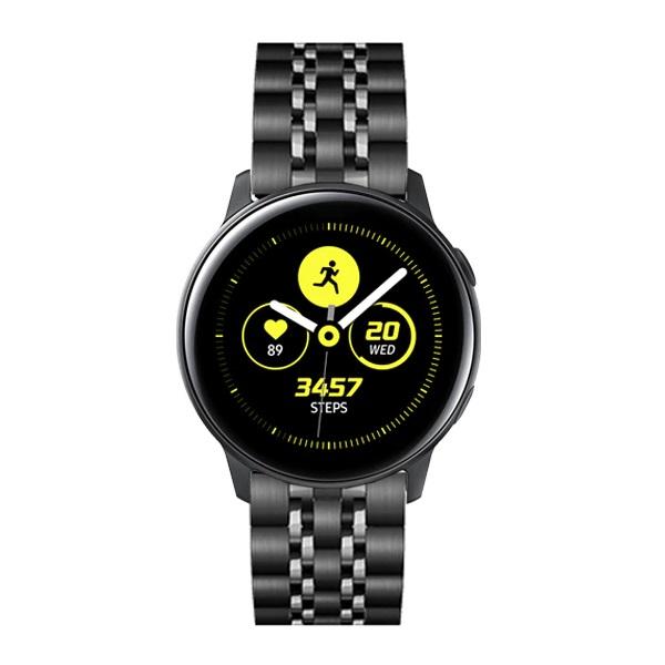 خرید بند فلزی طرح رولکس ساعت هوشمند سامسونگ گلکسی واچ اکتیو