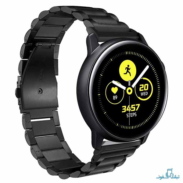Samsung Galaxy Watch Active Stainless Steel Band Strap-onlineshop