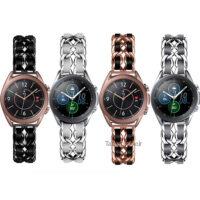 بند سامسونگ Galaxy Watch 3 41mm استیل چرمی