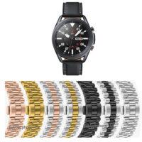 بند ساعت سامسونگ Galaxy Watch 3 45mm استیل 3Rows