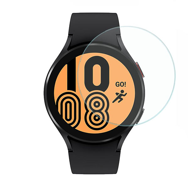 محافظ صفحه نمایش شیشه ساعت هوشمند سامسونگ گلکسی واچ4