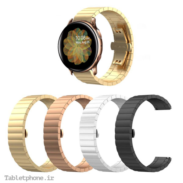 بند استیل سامسونگ Galaxy Watch Active 2 مدل OneBead
