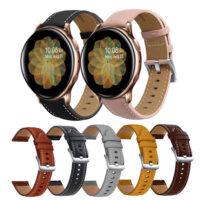 بند چرمی سامسونگ Galaxy Watch Active 2 مدل Premium