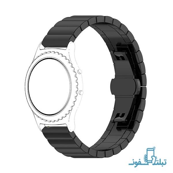 بند استیل ساعت هوشمند سامسونگ Gear S2 کلاسیک