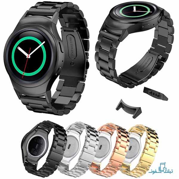 بند فلزی ساعت هوشمند سامسونگ گیر اس 2 اسپورت
